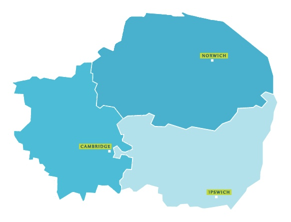 Areas we Work In